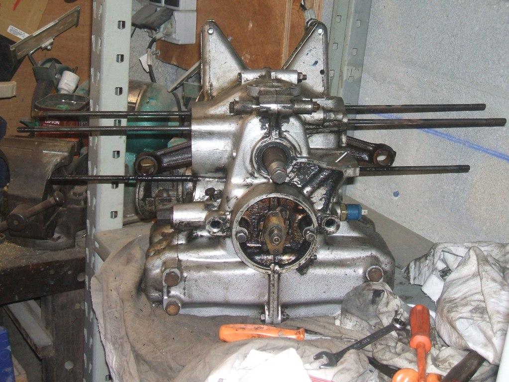 le moteur demontage